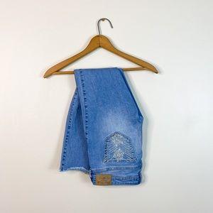 Hollister Co lightwash skinny jeans size 1 denim
